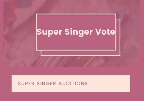 super singer vote online