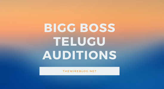 bigg boss telugu auditions